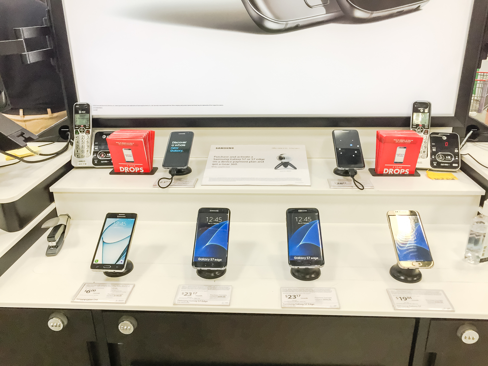 Used Phones in Supermarkets